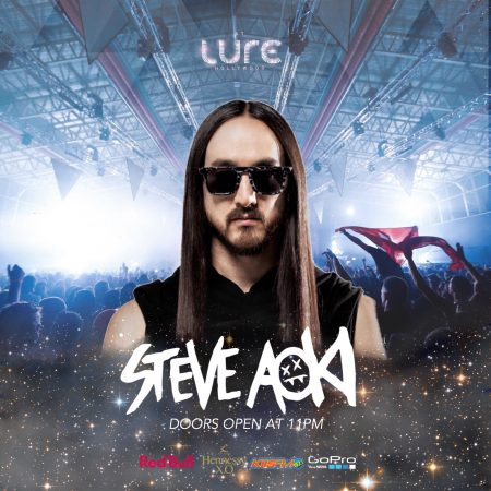Steve Aoki @ LURE Nightclub