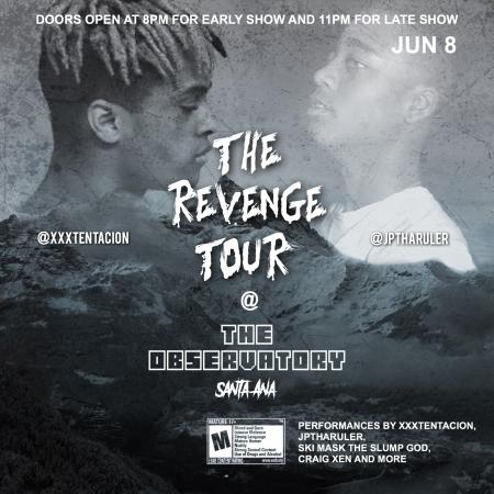 The Revenge Tour @ The Observatory